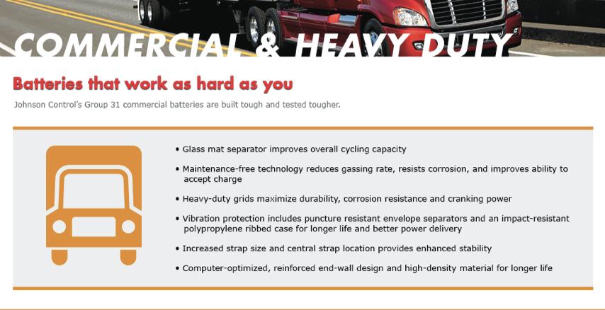 Commercial & Heavy Duty