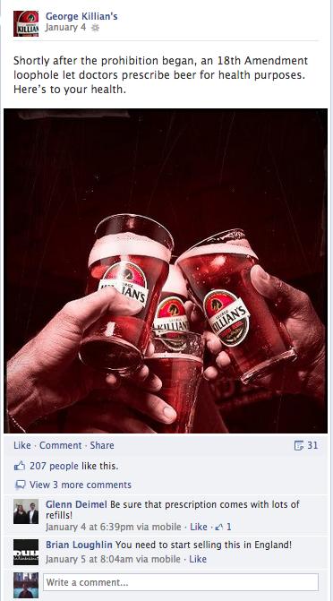 Killian's Facebook 1/4